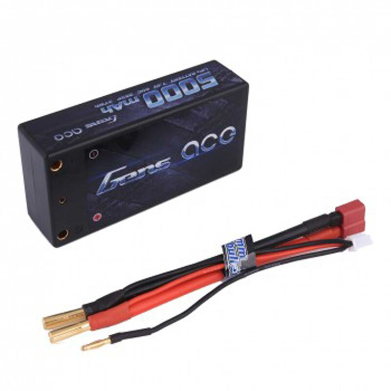 7.4V 5000 Capacity 2S Voltage 60C LiPo, Deans