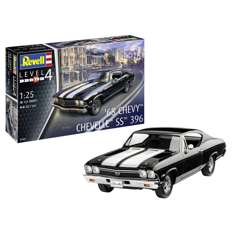 1/25 1968 Chevy Chevelle SS 396