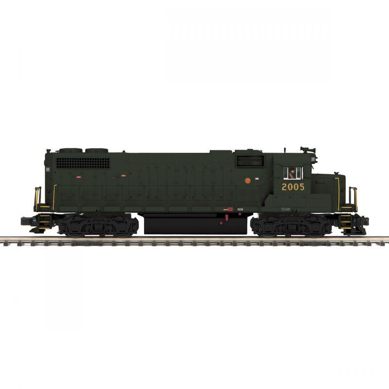 O Hi-Rail GP38-2 with PS3 PRSL #2005