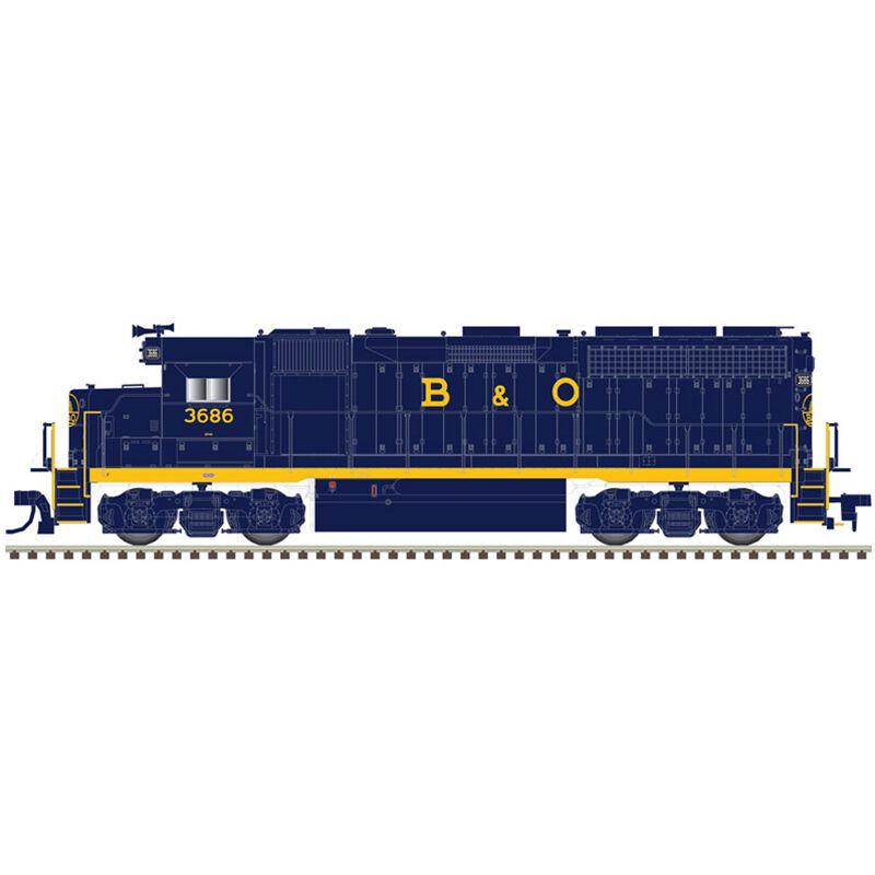 HO GP40 with DCC & Sound B&O #3688