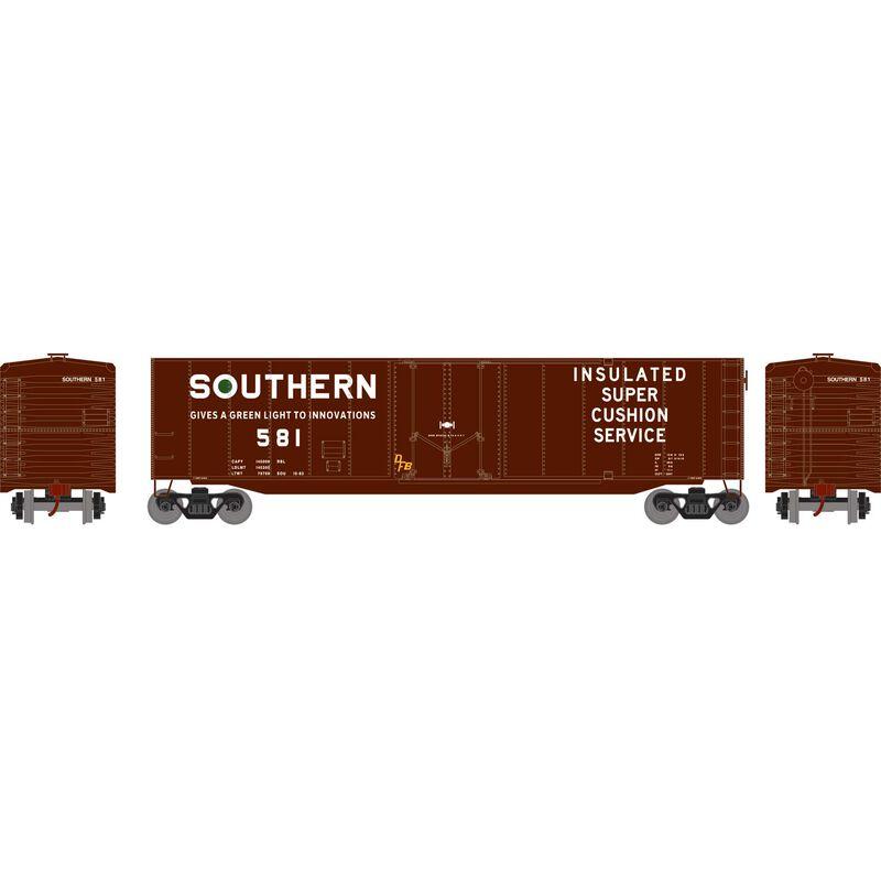 HO 50' Plug Door Smooth Side Box, SOU #581