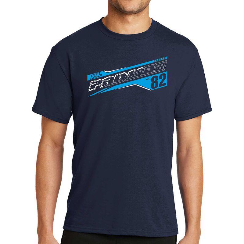 Pro-Line Streak Deep Navy T-Shirt - XXX-Large