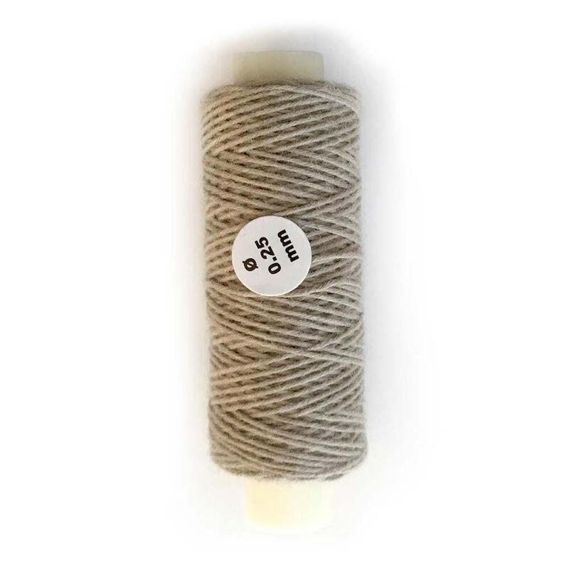 Cotton Thread .25mm Beige 30 Meter