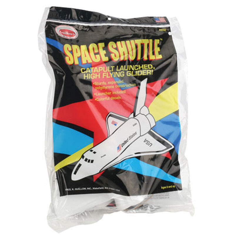Space Shuttle Foam Glider, 10""