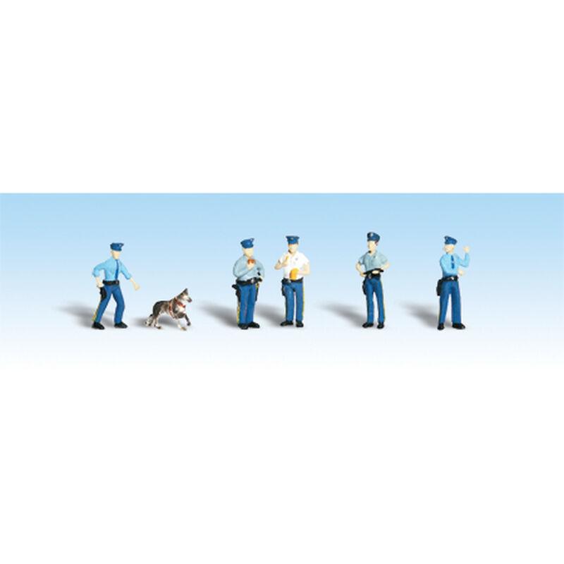 HO Policemen