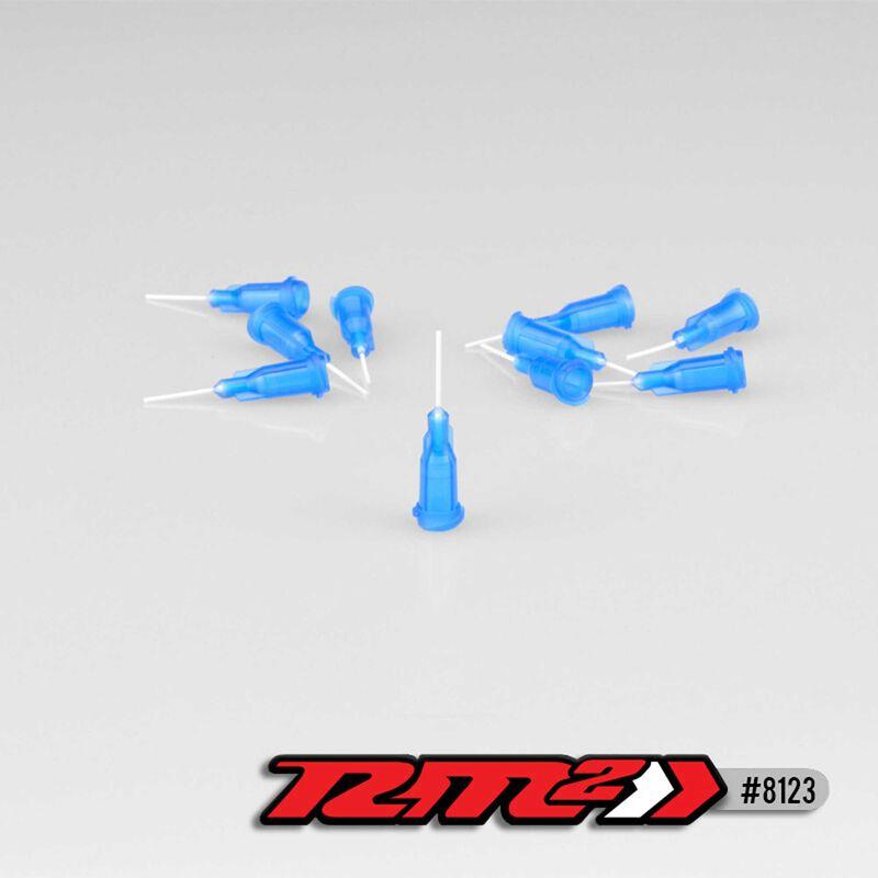 Glue Tip Needles, Thin Bore, Blue (10)