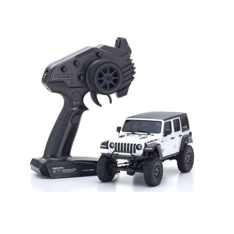 MINI-Z 4x4 Jeep Wrangler Rubicon Bright White RS