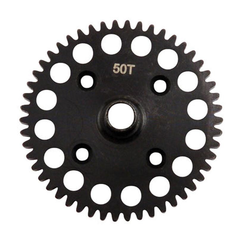 Center Diff 50T Spur Gear, Lightweight: 8B/8T
