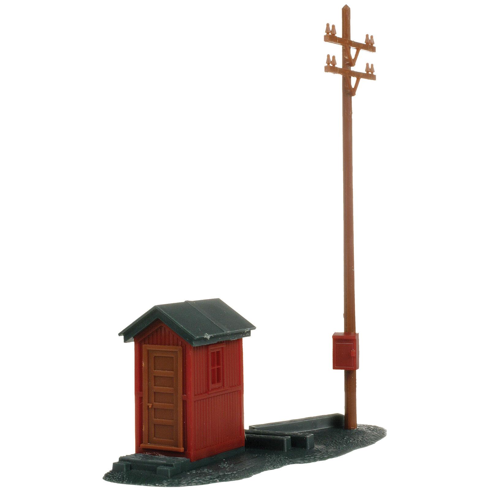 HO KIT Telephone Shanty & Pole