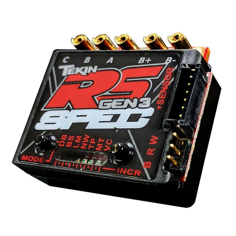 RS Gen3 Brushless Sensored/Sensorless D2 ESC 13.5T Limit