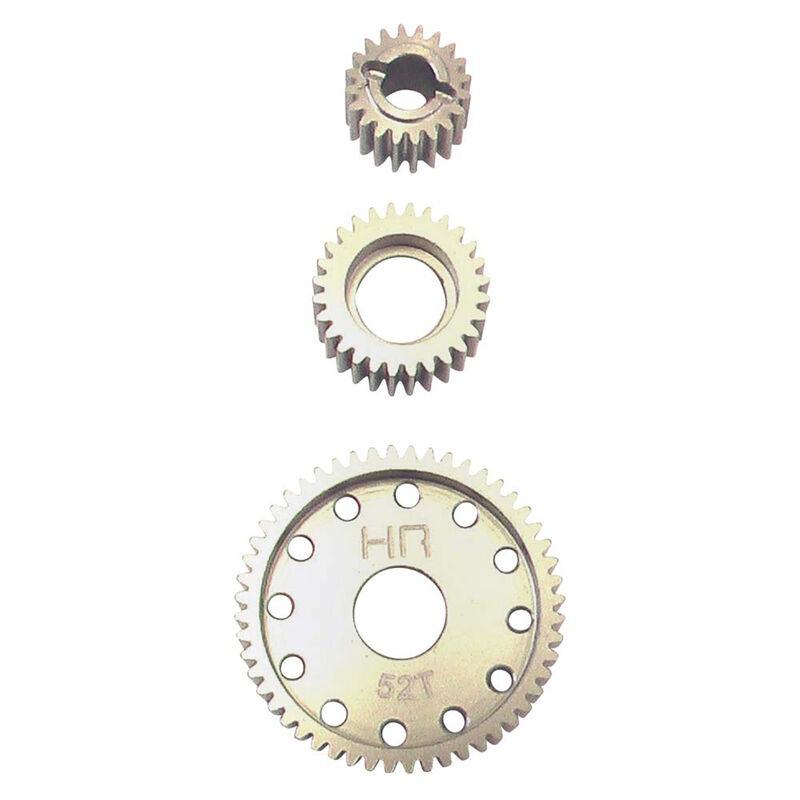 Hard Anodized Aluminum Center Gear Set