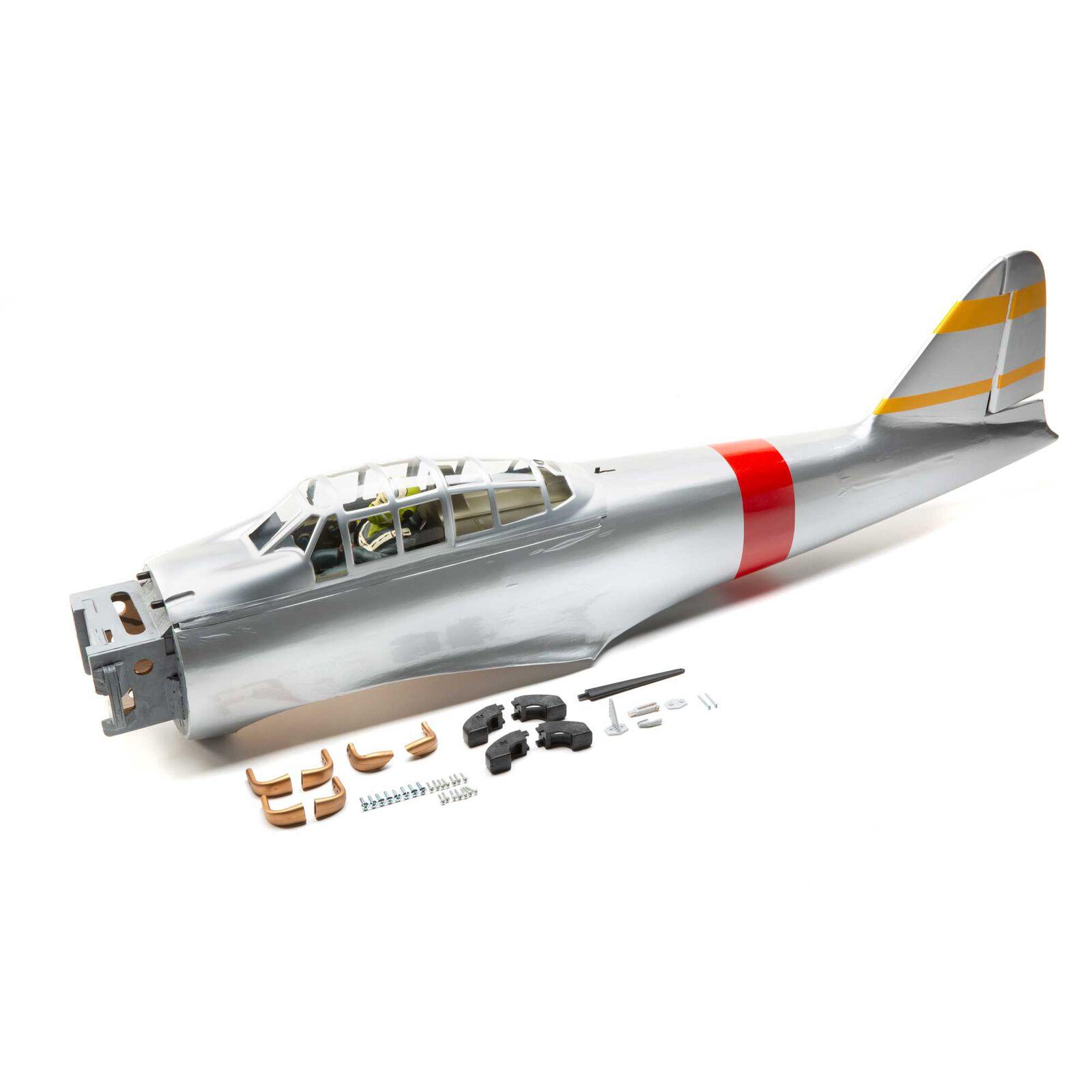 "Fuselage: ZERO A6M EP/GP .46-.55 ARF 55"""