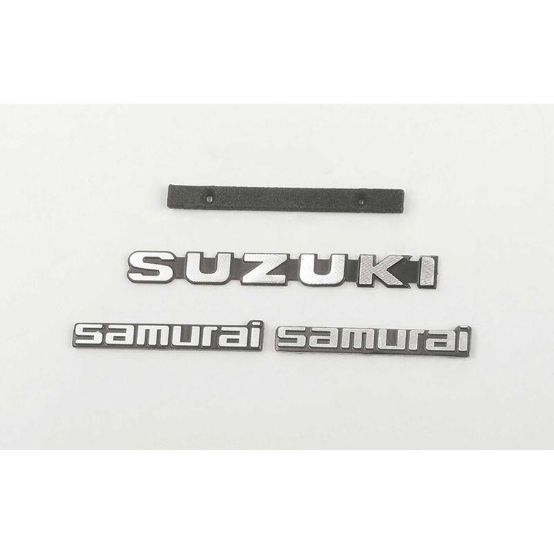 Metal Logo Set, Style A: Samurai 1/6 Crawler