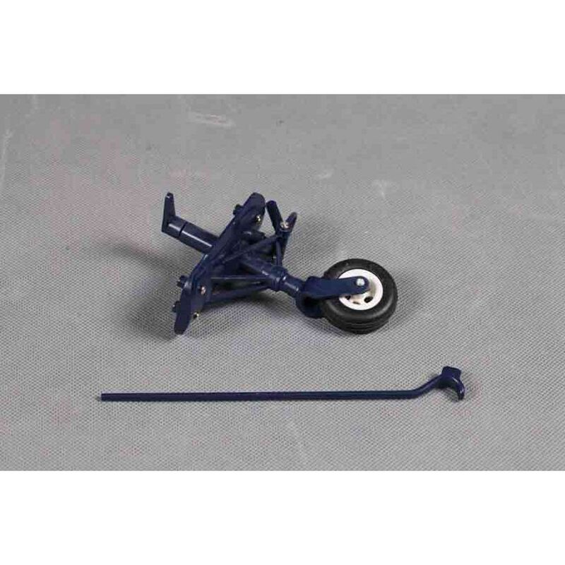 Rear Land Gear: F4U-4 1400mm, Blue