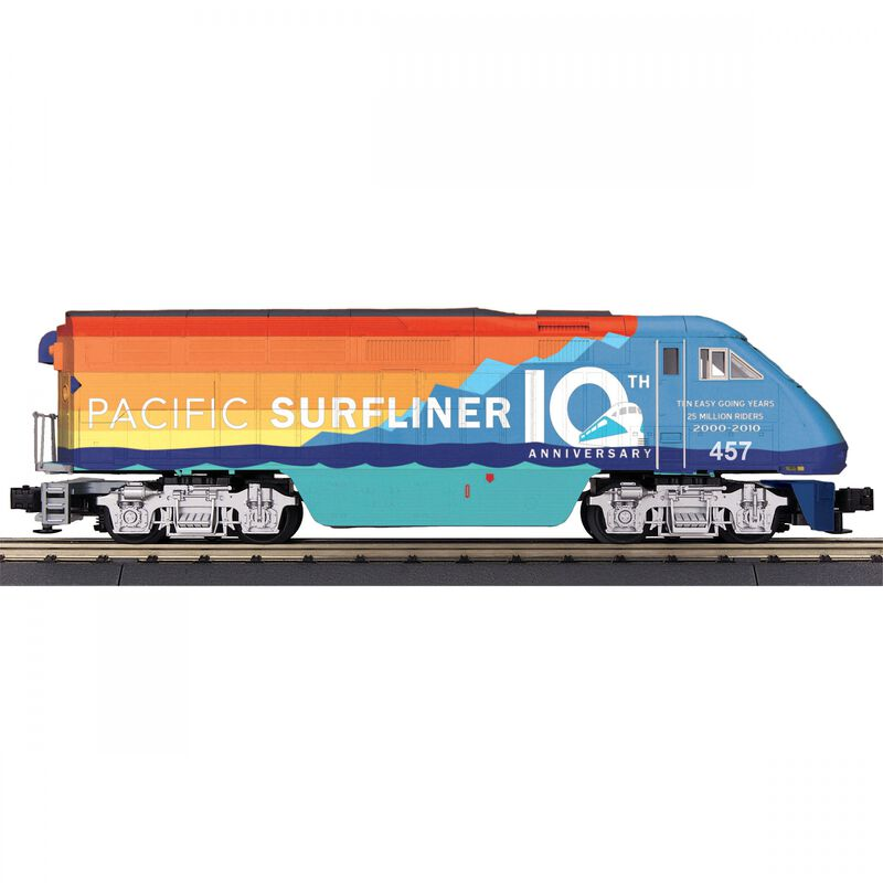 O-27 Imperial F59PHI with PS3 Amtrak #457