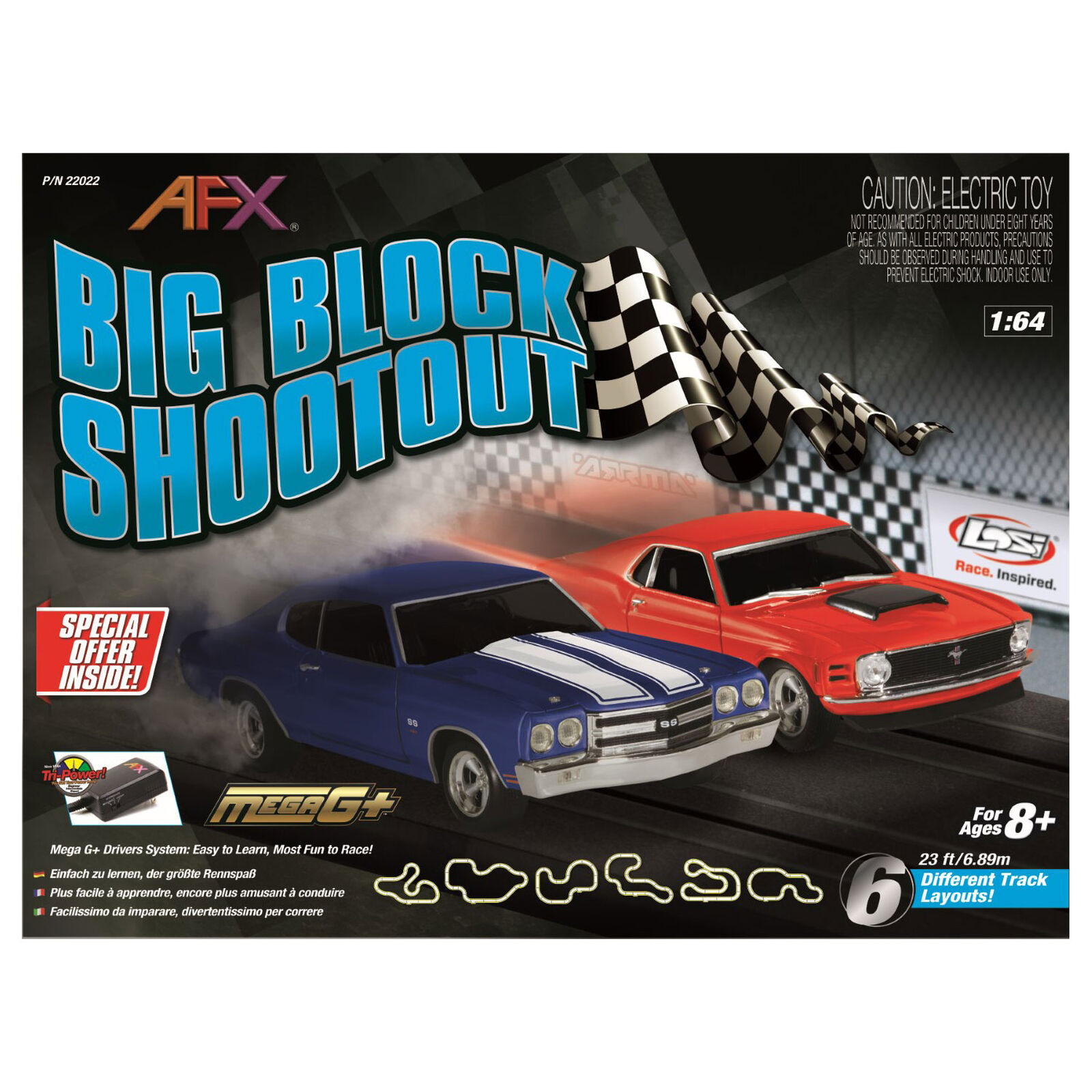 Big Block Shootout Set, 23ft