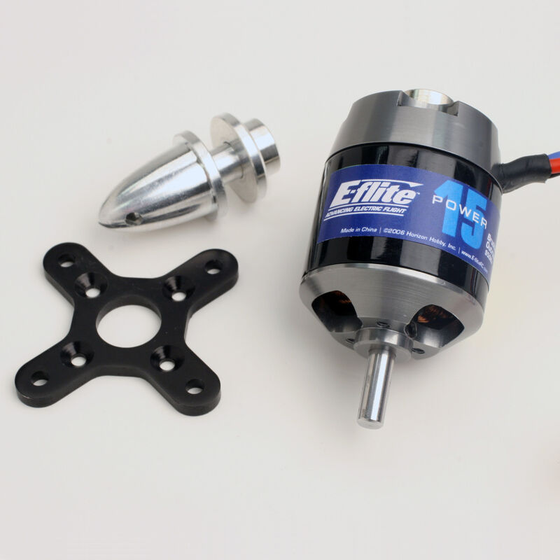 Power 15 Brushless Outrunner Motor, 950Kv: 3.5mm Bullet
