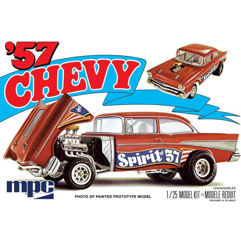1 25 1957 Chevy Flip Nose Spirit of 57