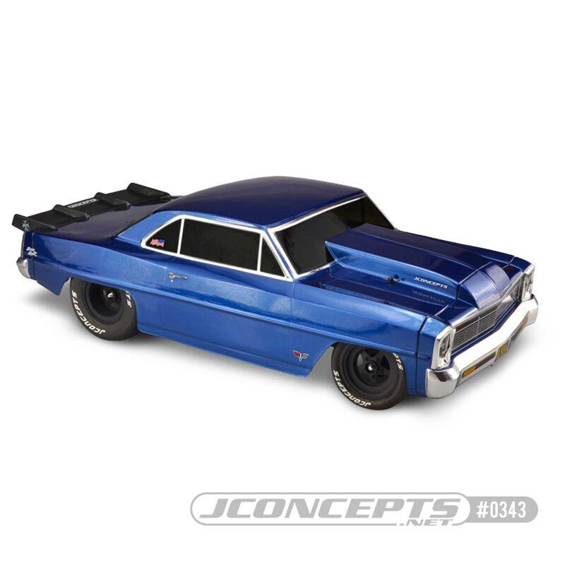 1/10 1966 Chevy II Nova SCT Clear Body, 10.75 x13 WB
