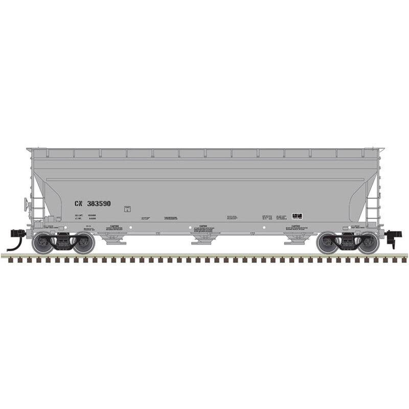 HO 4650 Covered Hopper CN #385566