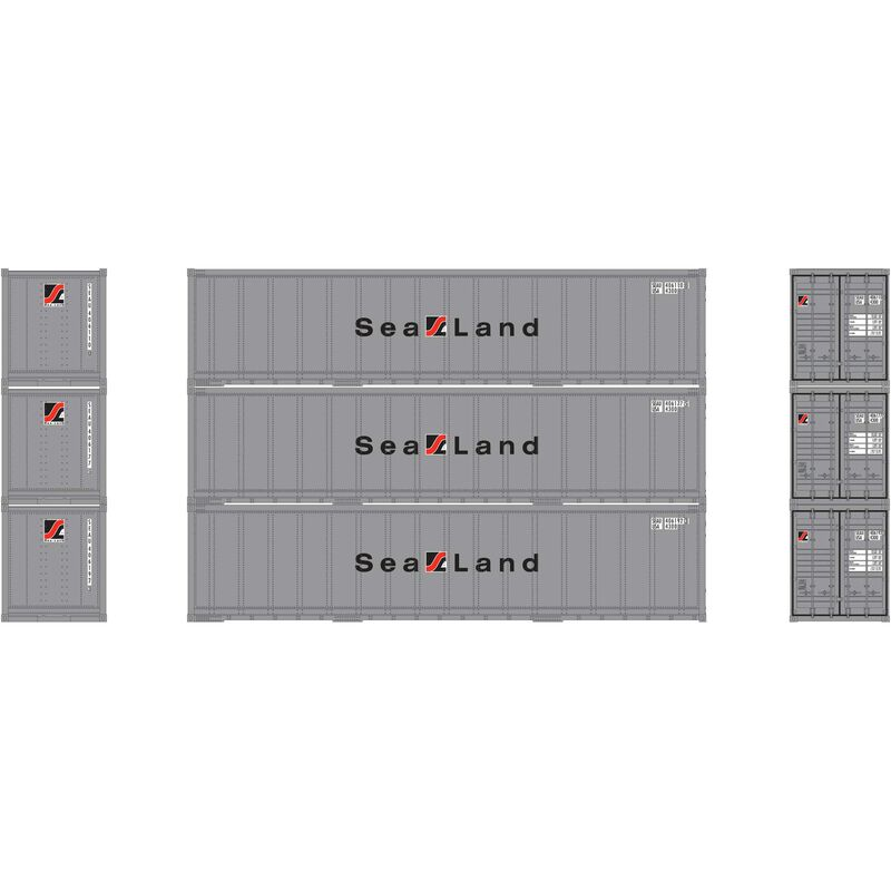 N 40' Smooth Side Container Sealand (3)