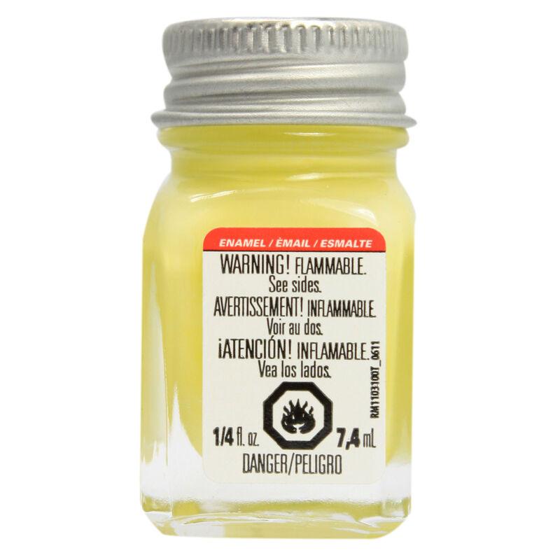 Enamel 1/4 oz Light Yellow
