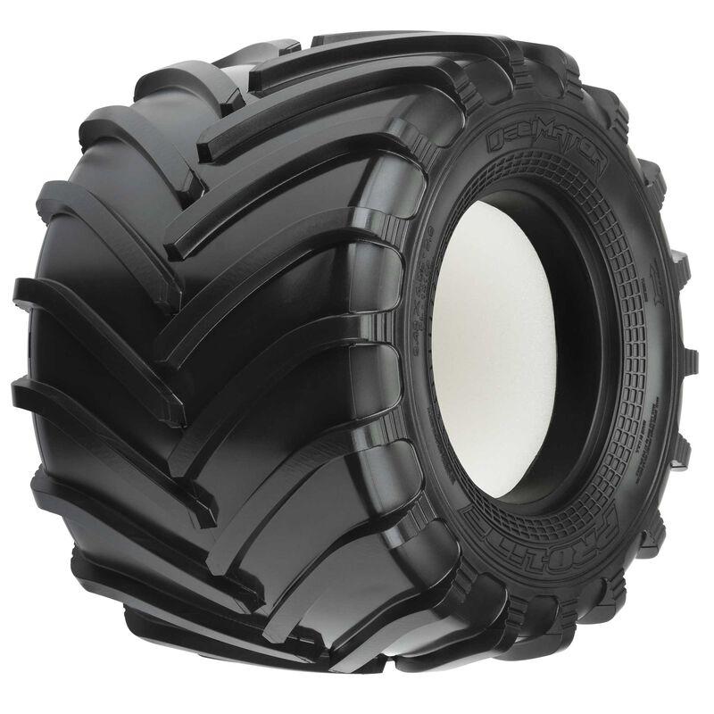"Decimator 2.6"" M3 Tires, F/R (2): Clod Buster"
