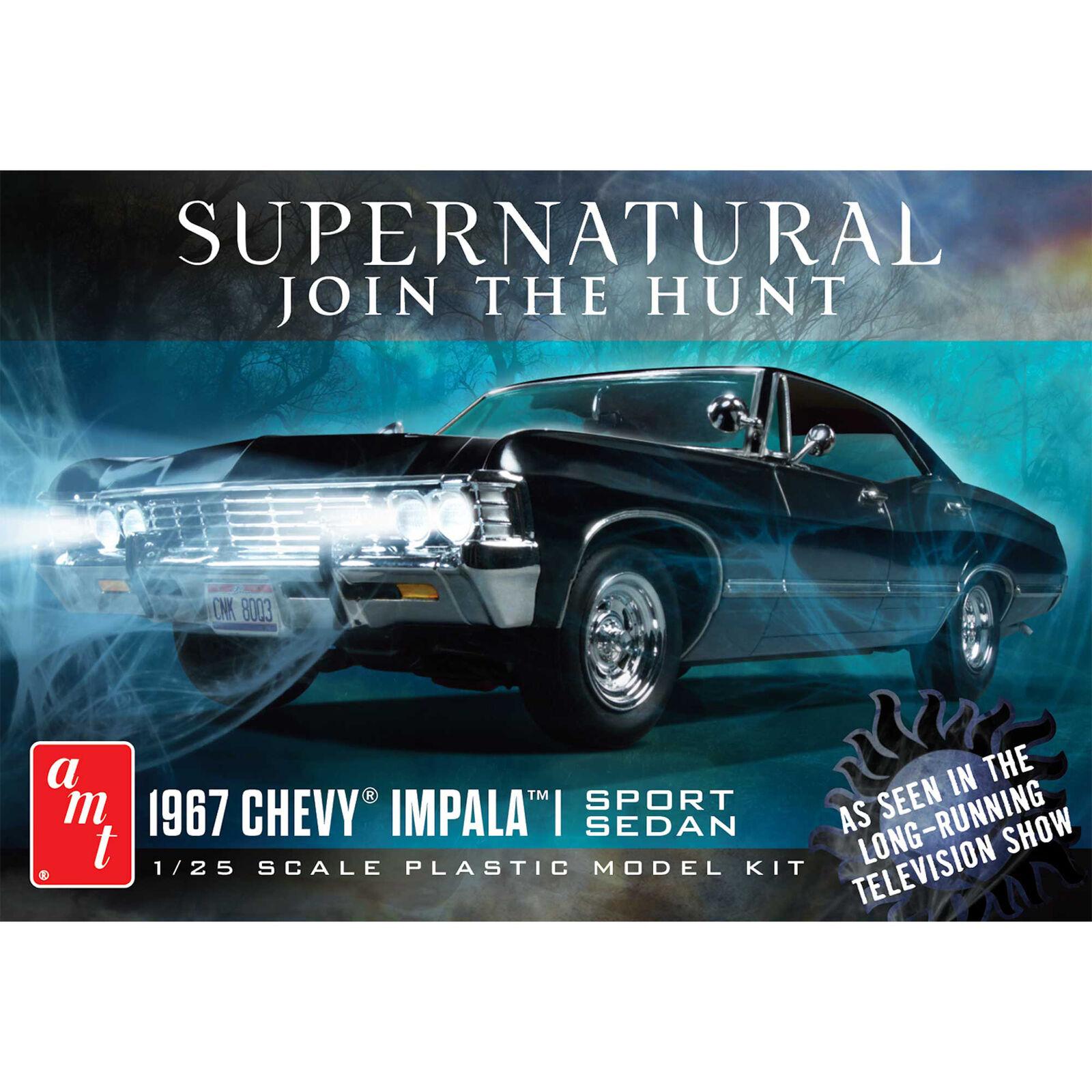 1/25 1967 Impala, Supernatural, Model Kit