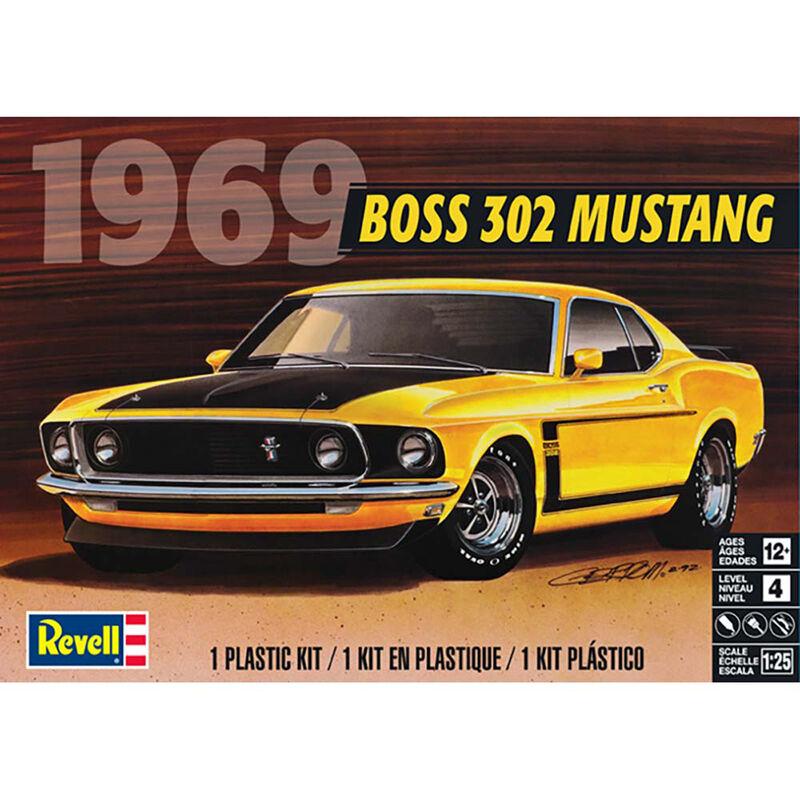 1 25 '69 Boss 302 Mustang