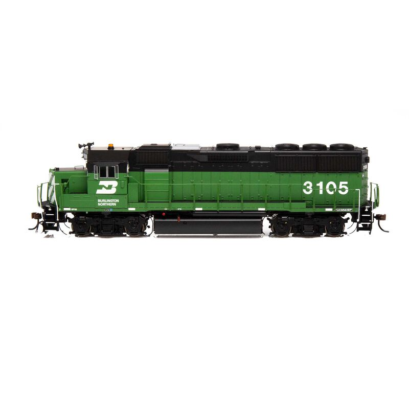 HO GP50 BN Green & Black #3105