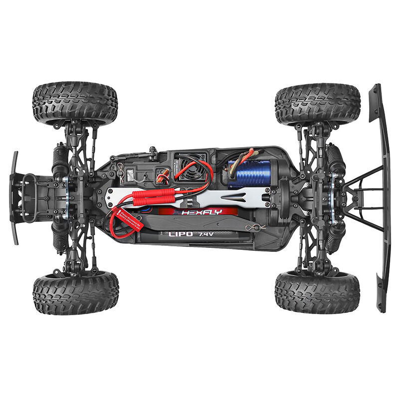 1/10 Blackout SC Pro 4WD Short Course Truck Brushless RTR, Red
