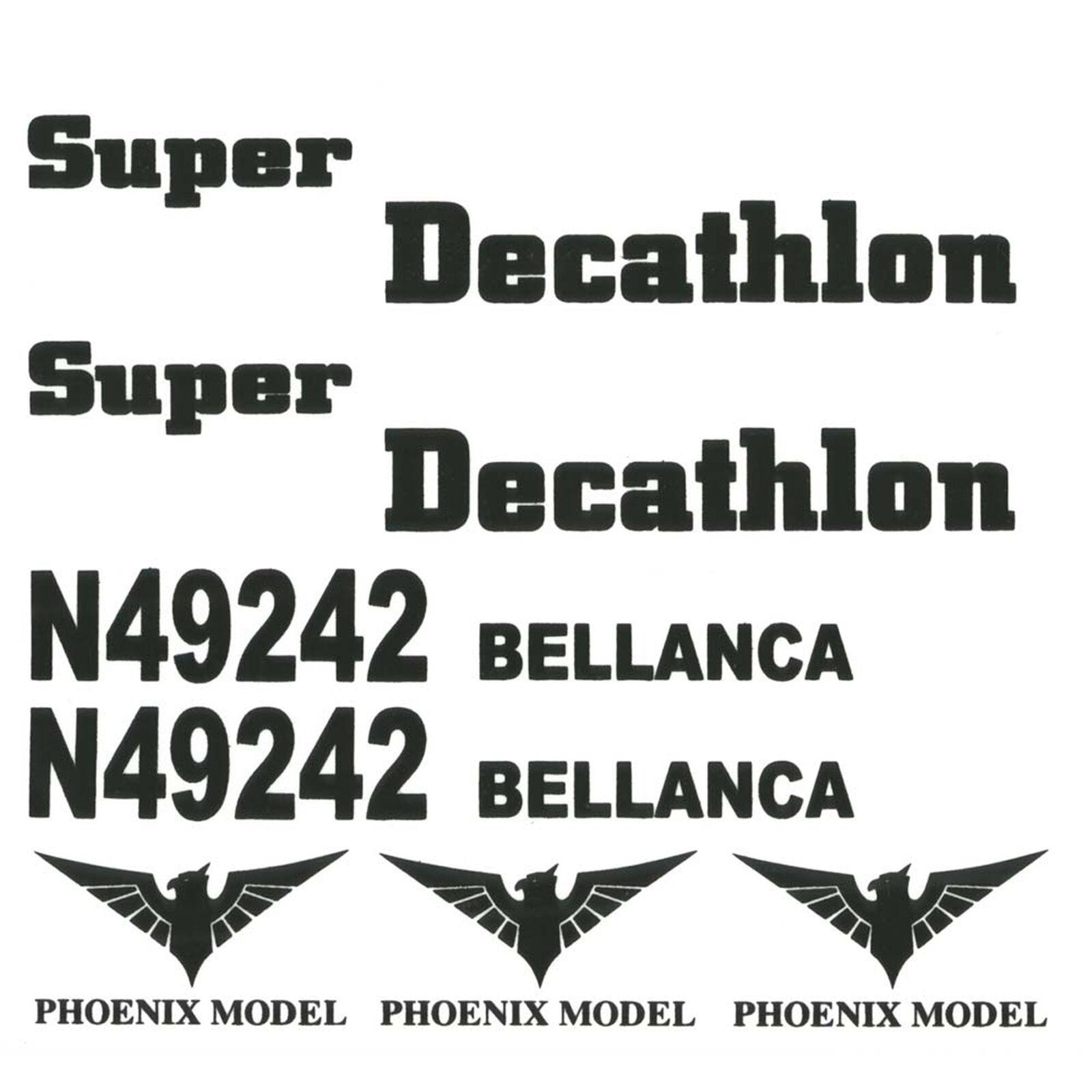 Decals Decathlon Mk2 GP EP .46-.55 ARF