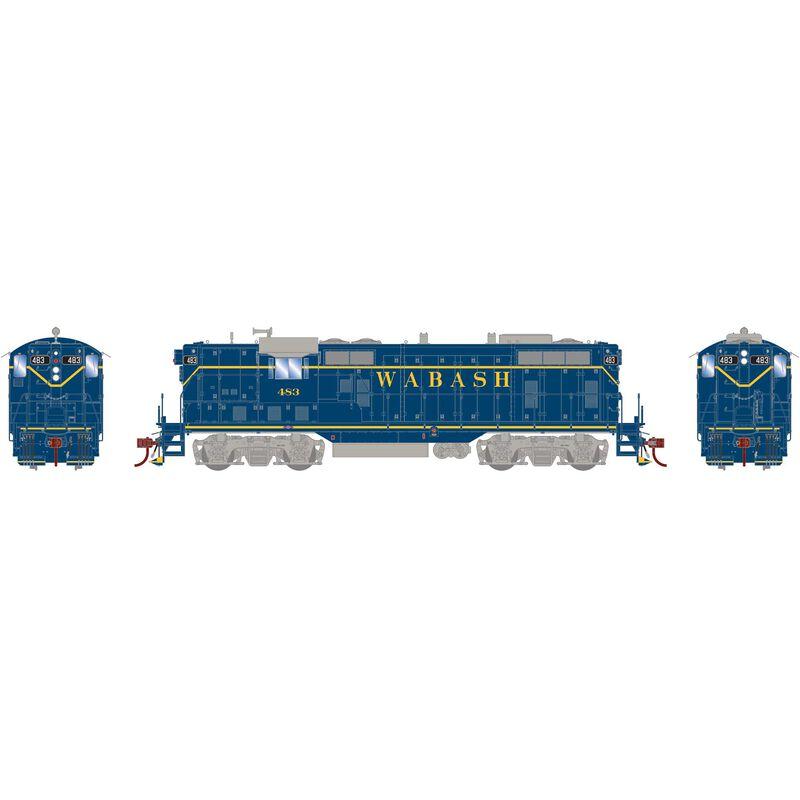 HO GP7 Wabash Blue #483