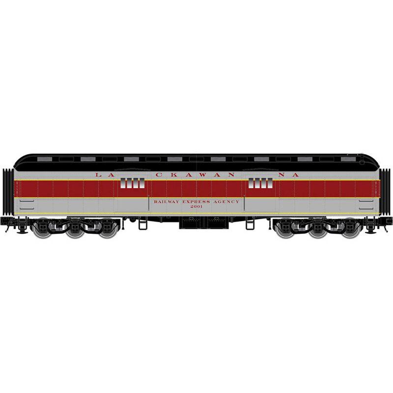 N Trainman 60' Baggage Car EL #2001