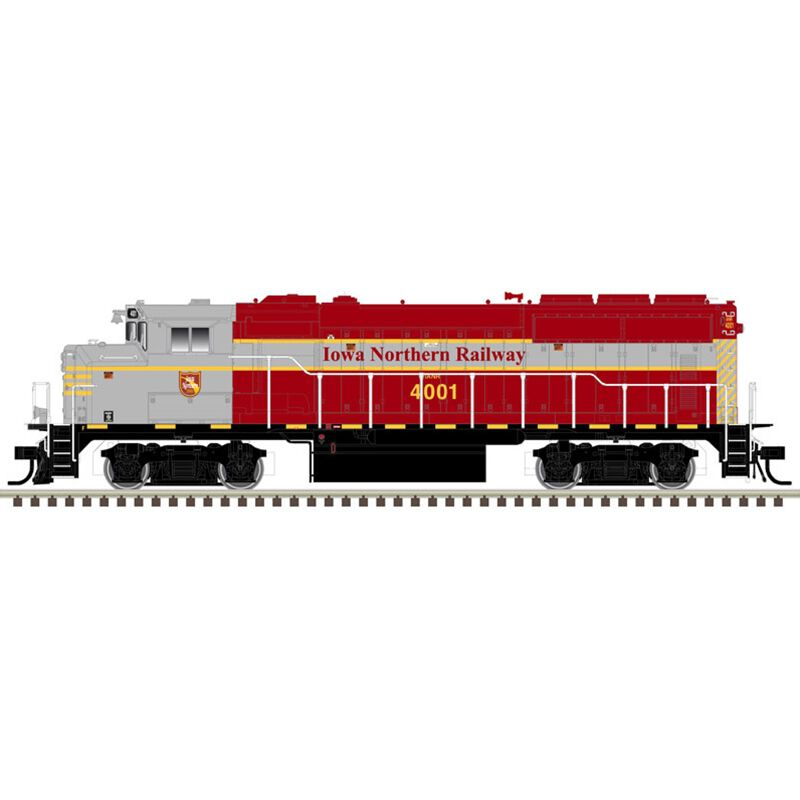 HO GP40-2W w DCC & Sound IANR #4003
