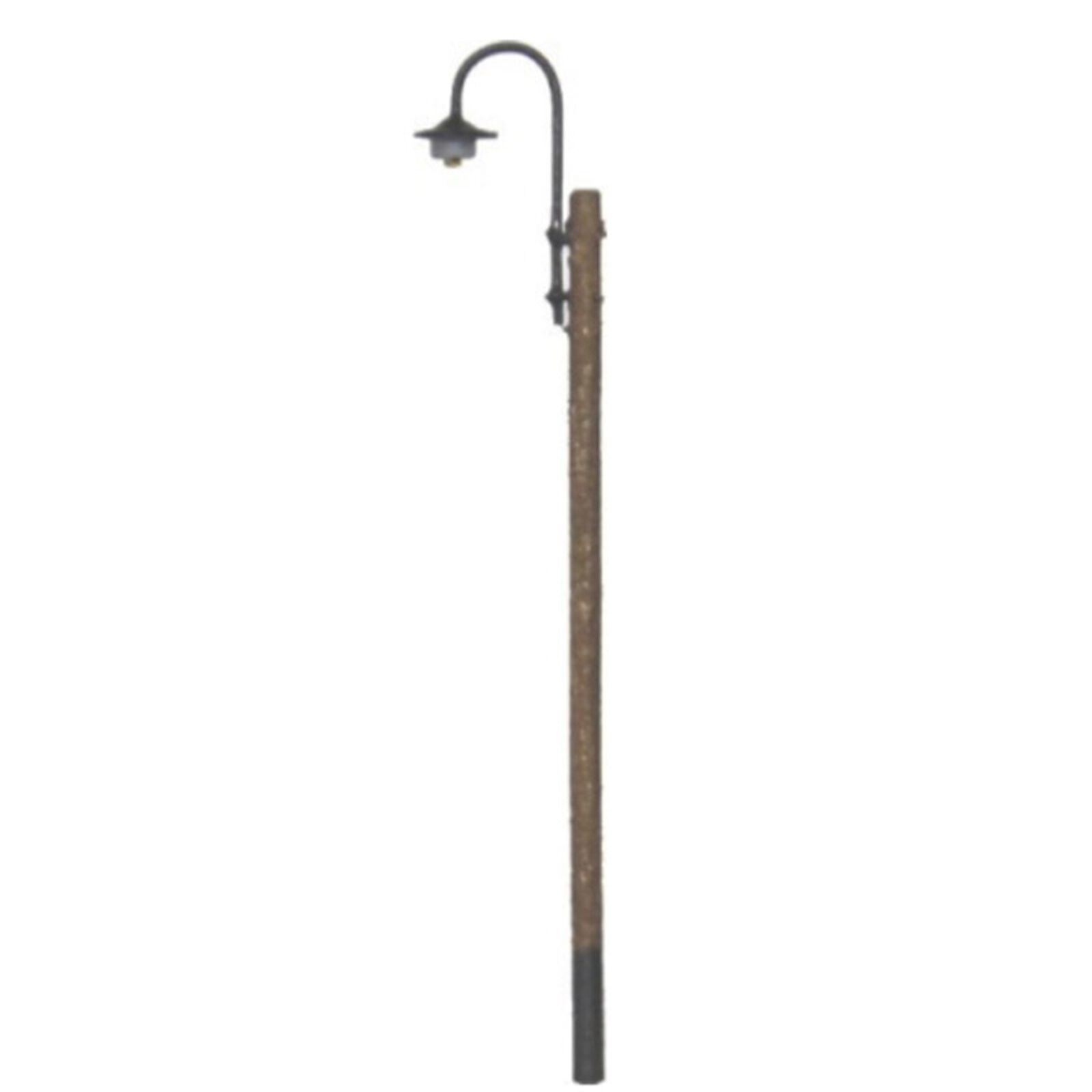 N Lighting System Curved Light Wooden Pole
