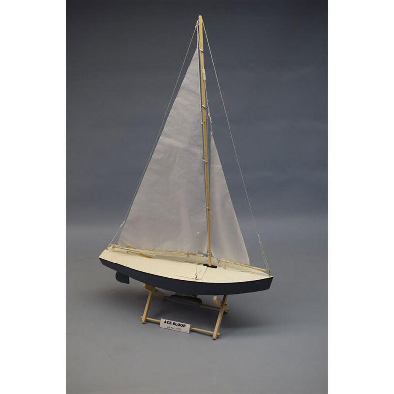 """Ace Sloop 17"""" Boat Kit"""