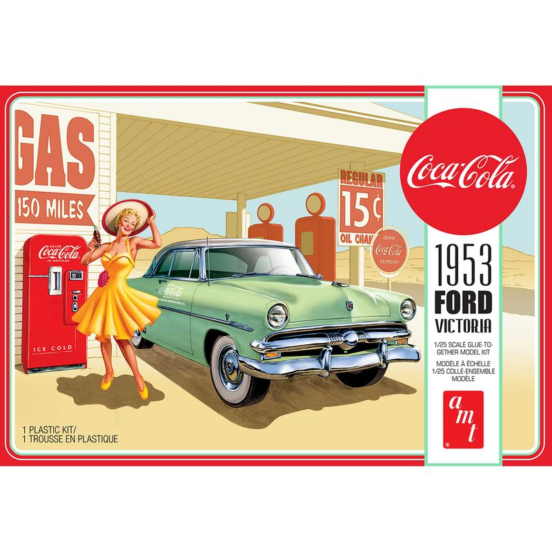 1/25 1953 Ford Victoria Hardtop with Coke Machine 2T