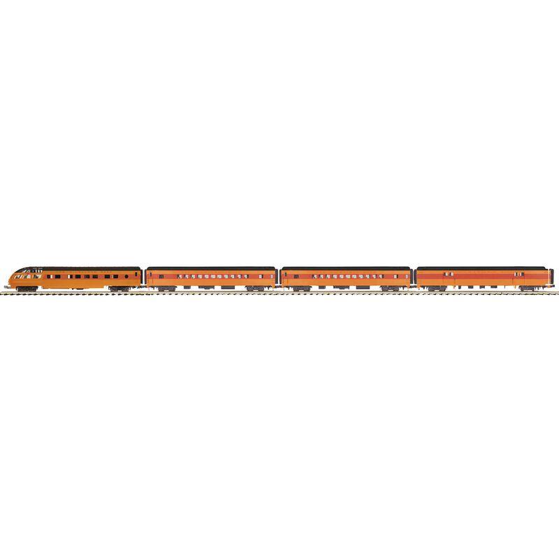 O 70' Streamline SS Passenger Sets MILW #1330 (4)