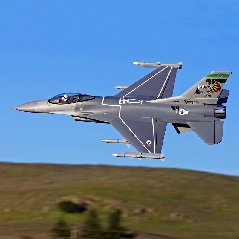 F-16C Fighting Falcon 70mm EDF Jet PNP, 813mm