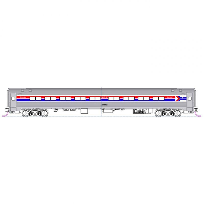 N Amfleet Coach Amtrak Ph I Set A (2)