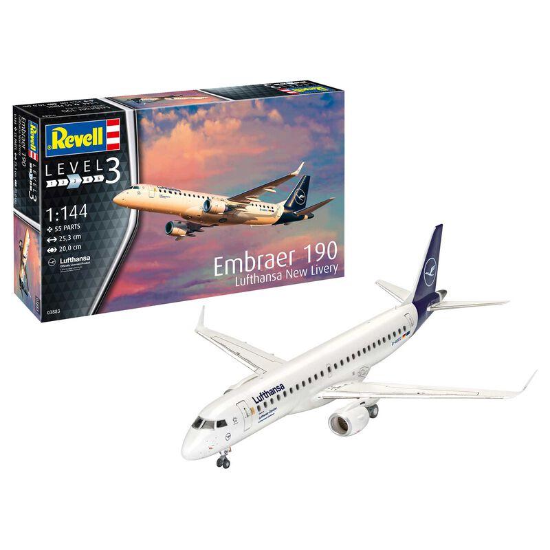 1/144 Embraer 190 Lufthansa New Livery