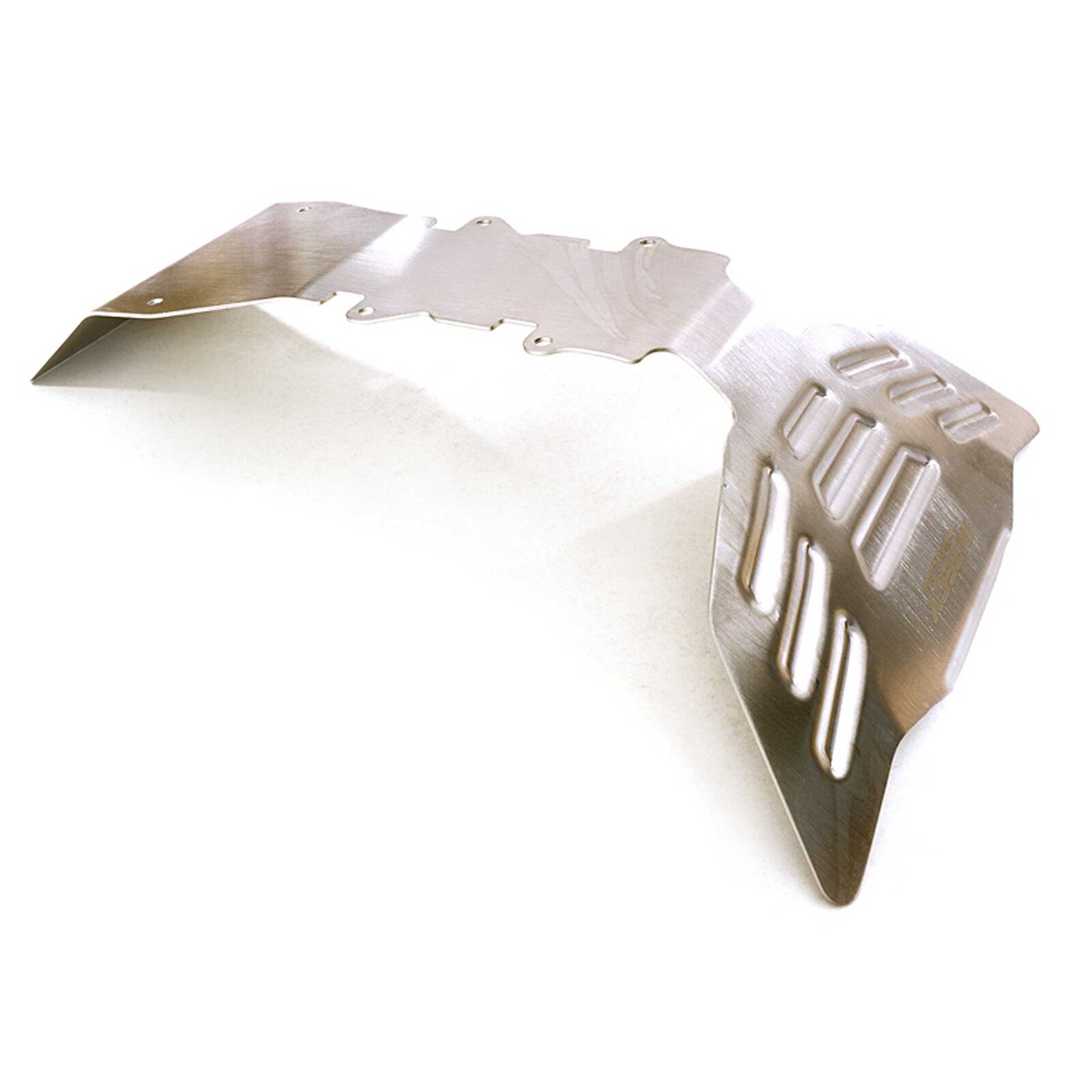 Stainless Steel Front Skid Plate  E-Maxx