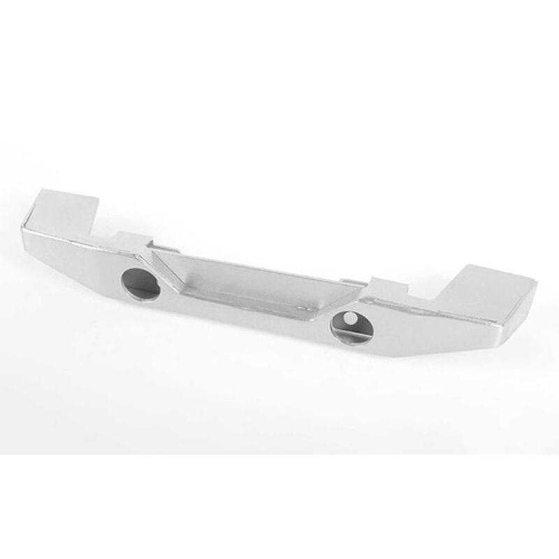 Eon Metal Rear Bumper, Silver: Gelande II Black Rock Body