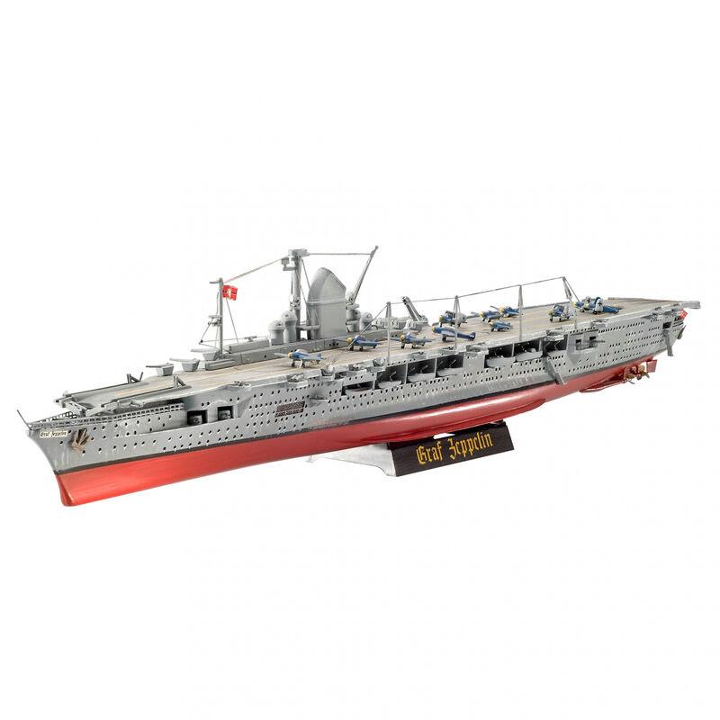 1/720 German Aircraft Carrier GRAF ZEP