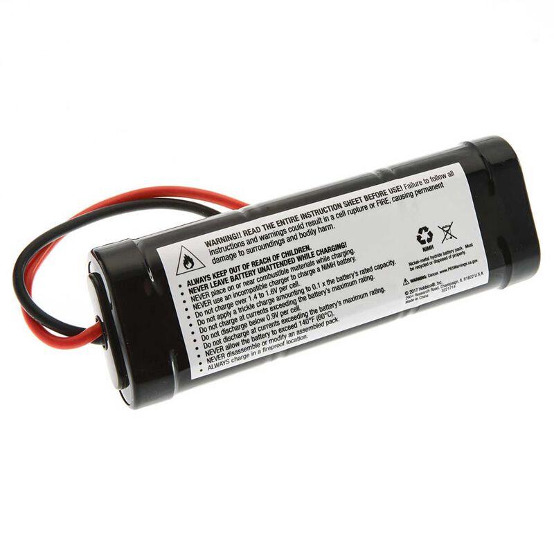 7.2V 5000mAh 6-Cell Sub-C Stick NiMH Battery: Tamiya Connector