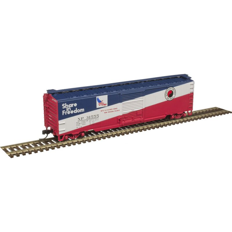 N Trainman 50' Single Door Box NP #31555