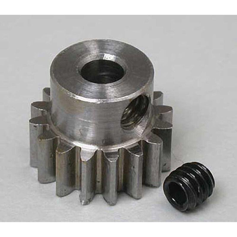 """Steel Alloy Motor Pinion Gear 1/8""""/.6 Mod, 16T"""