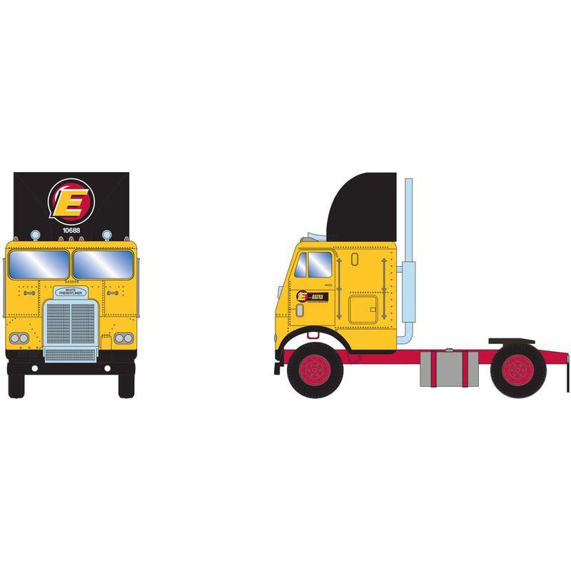 HO RTR FL with 2 Axle Estes