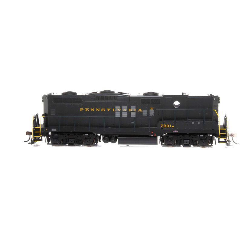 HO GP9 with DCC & Sound PRR #7201B